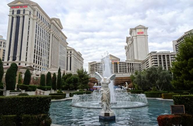 las vegas caesars palace hotel strip