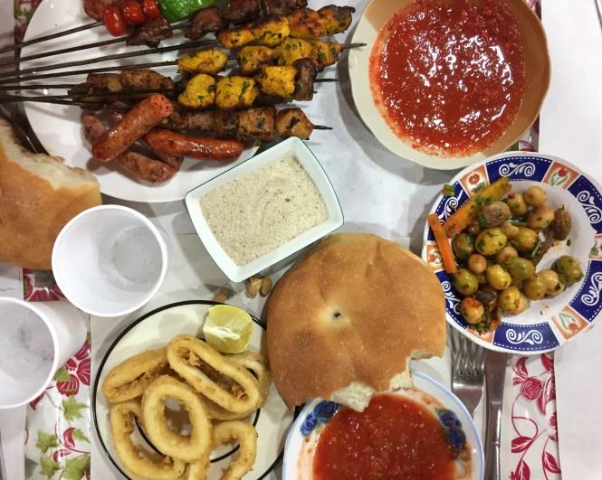 djeema-el-fna-food