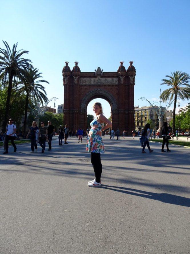 barcelona tipps arc de triomf urlaub