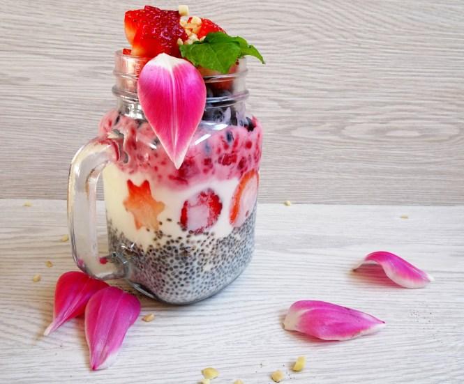 to go chia frucht joghurt himbeere