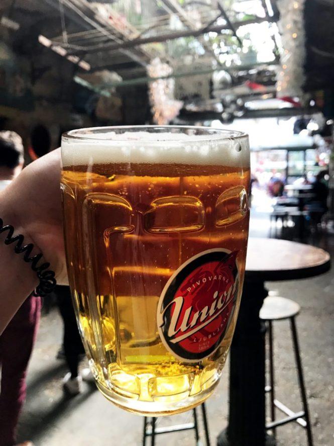 szimpla Kert Budapest Bier