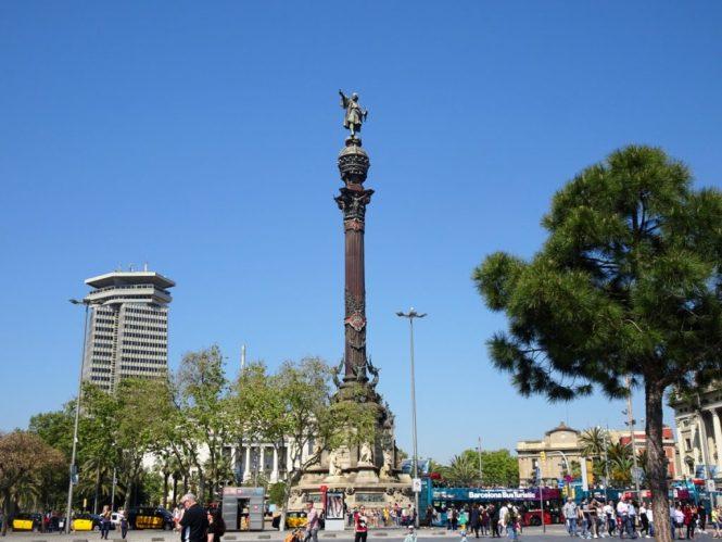 barcelona sightseeing cristofor colom
