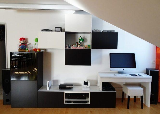 wohnwand workspace