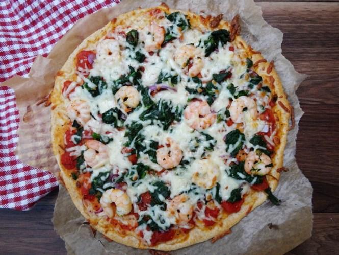 meeresfrüchte pizza ohne hefe mit grundrezept für pizzateig