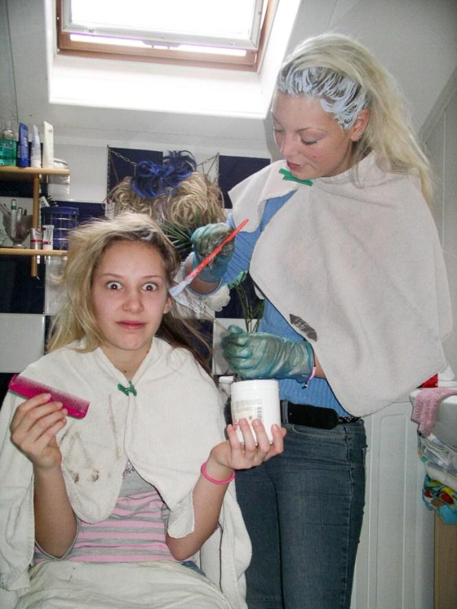 10 years ago Ina und Anja