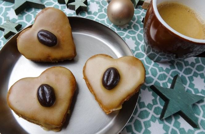 Kaffee Herzen leckerfuerjedentag