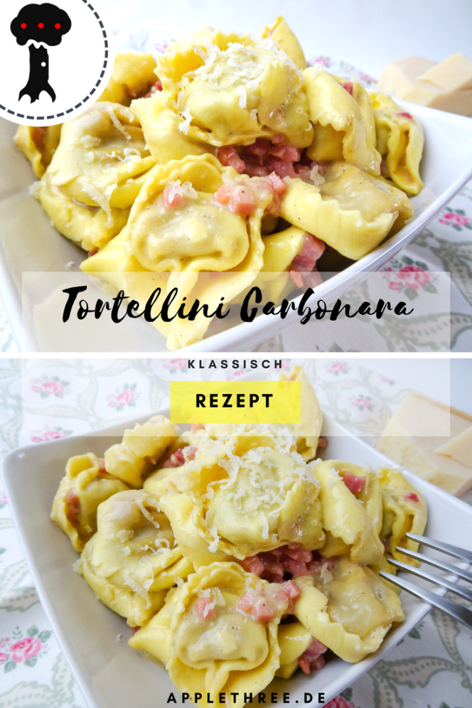 rezept Tortellini Carbonara