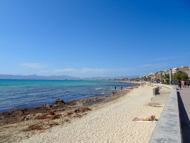 Palma de Mallorca - Strand von Palma