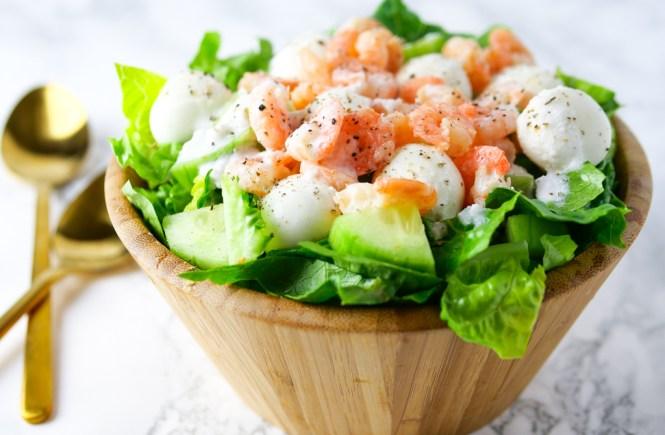 garnelen salat rezept