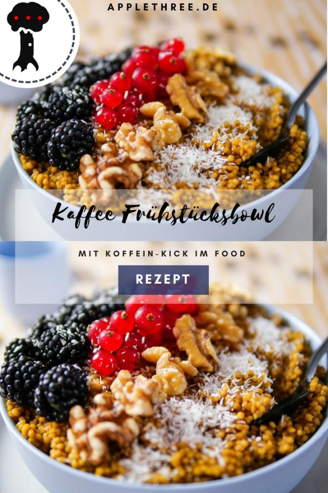 Kaffee Frühstücksbowl