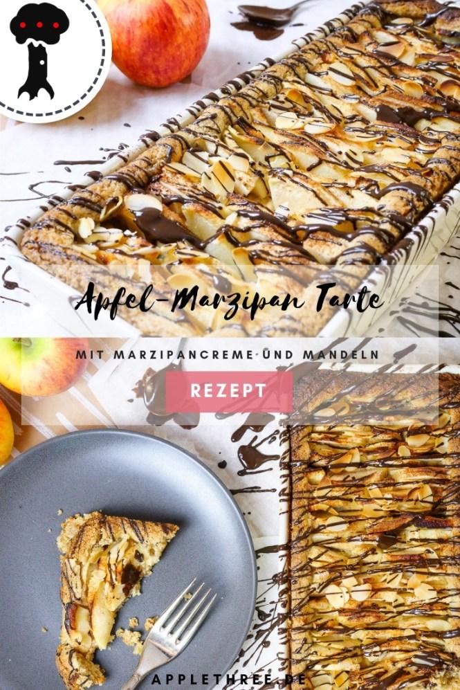Apfel-Marzipan Tarte