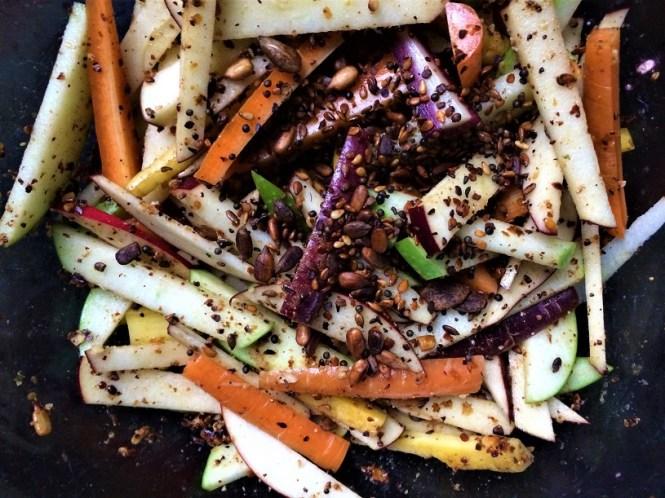 Apfel-Karotten-Salat
