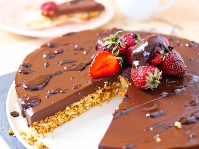 no bake kuchen schokolade kühlschrankkuchen