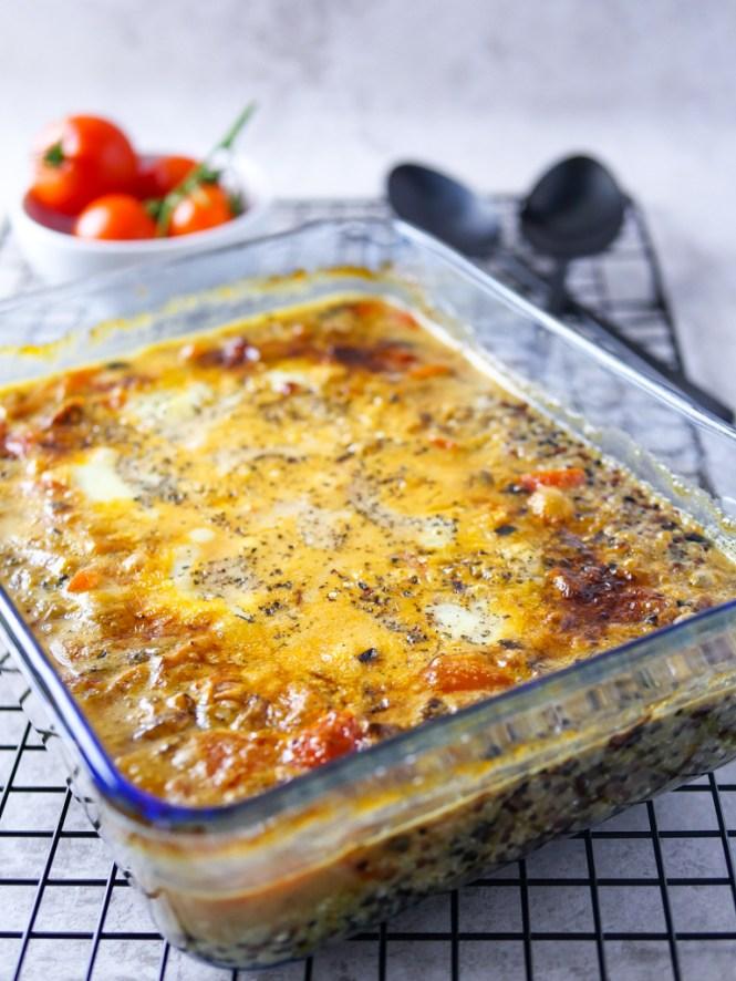 quinoa Auflauf vegetarisch