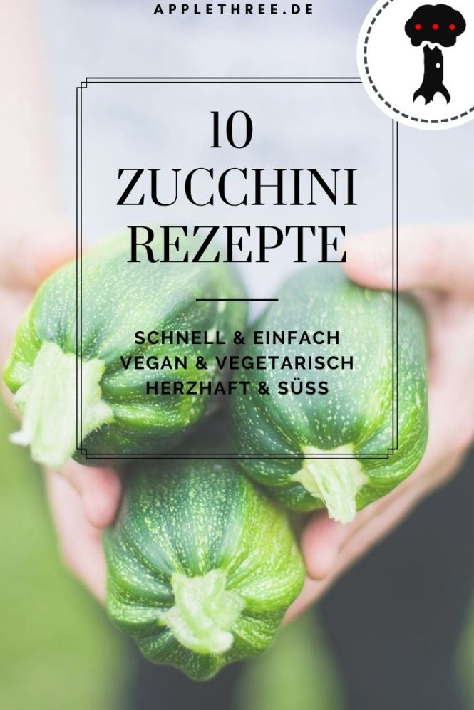 zucchini rezepte einfach schnell vegan vegetarisch