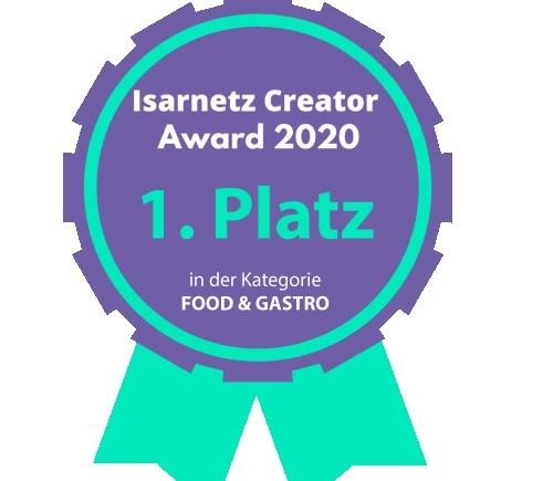 Isarnetz creator award 2020