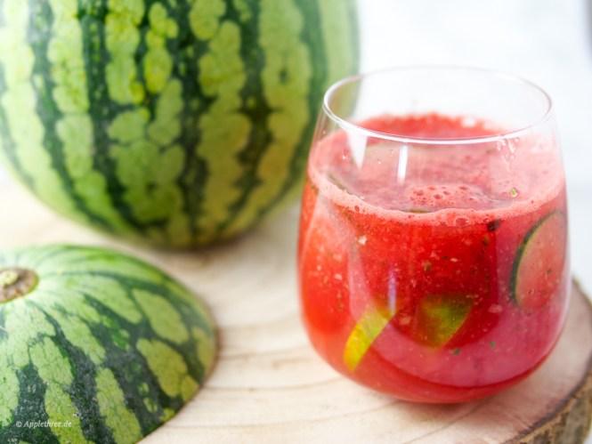 wassermelonen bowle