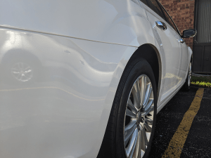 Detailed Chrysler 300 Close Up