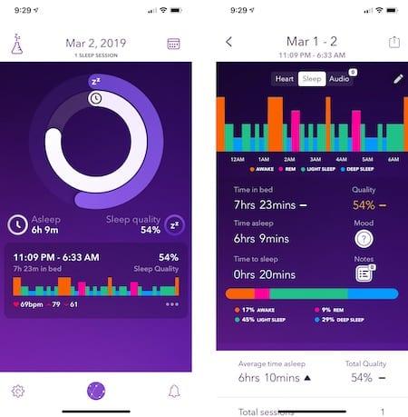 automatic sleep tracking on apple watch