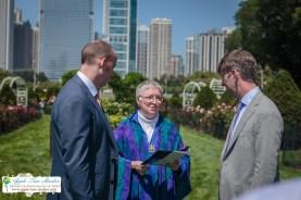 Grant Park Rose Garden Chicago Wedding-13