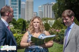 Grant Park Rose Garden Chicago Wedding-14