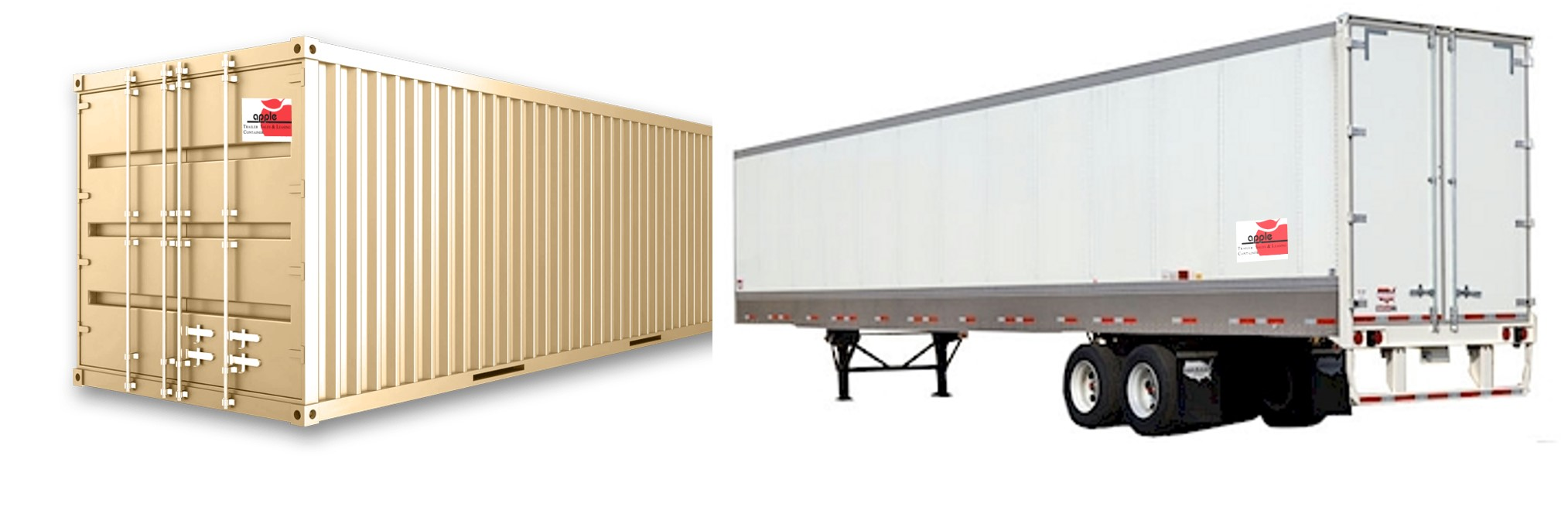 Storage Container and Trailer Rentals in MA - Apple Truck