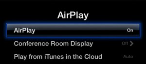 Apple TV AirPlay Settings