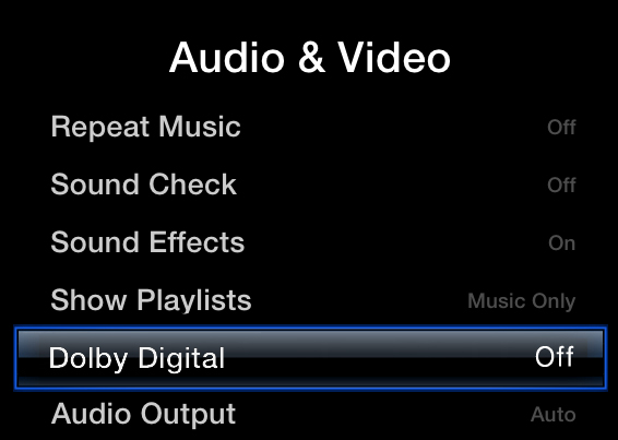 Fix Apple TV No Sound Issue – AppleTV2