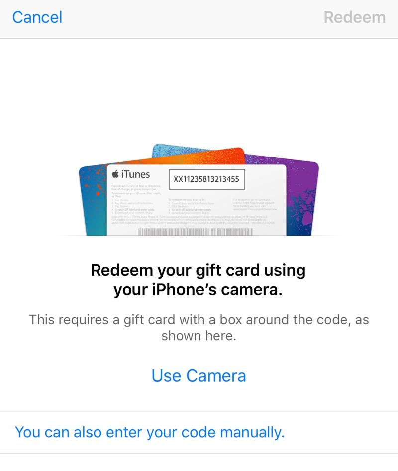 Redeem iTunes Gift Card, Promo Code, Download Code on ...