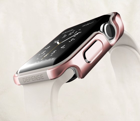 X-Doria's Limited Edition Rose Gold Defense Edge for Apple Watch