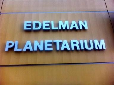 edelman planetarium
