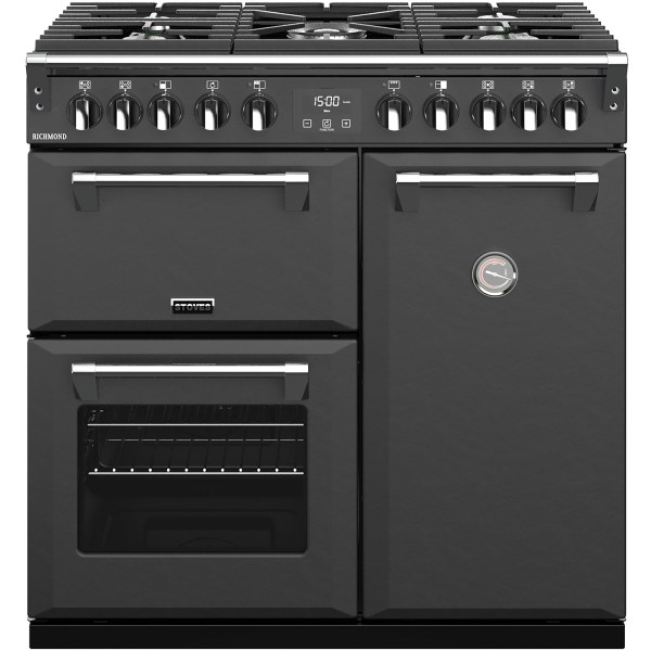 Stoves S900DF 90cm Dual Fuel Range Cooker - Anthracite