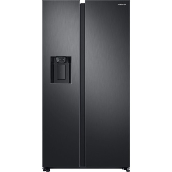 GRADE A2 - Samsung RS68N8240B1 Side-by-side American Fridge Freezer With Ice & Water Dispenser - Black