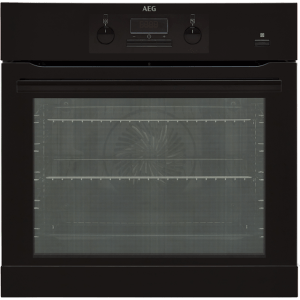 AEG Mastery BEB351010B Integrated Single Oven in Black
