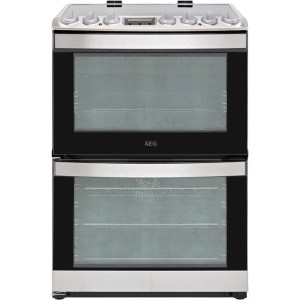 AEG CIB6730ACM Free Standing Cooker in Stainless Steel