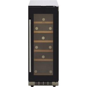 AEG SWE63001DG Integrated Wine Cooler in Black Glass