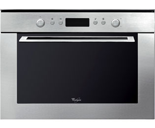 Whirlpool AMW820/IX Integrated Microwave Oven in Stainless Steel