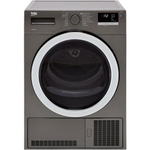 Beko DCY9316G Free Standing Condenser Tumble Dryer in Graphite