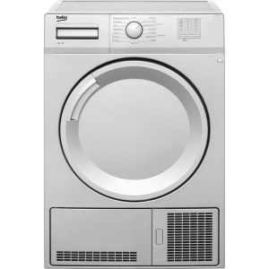 Beko DTGC7000S Free Standing Condenser Tumble Dryer in Silver