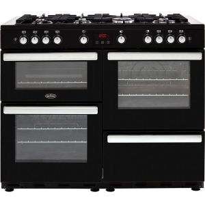 Belling Cookcentre110G Free Standing Range Cooker in Black