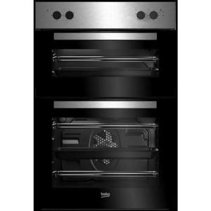 Beko BRDF21000X Integrated Double Oven in Stainless Steel