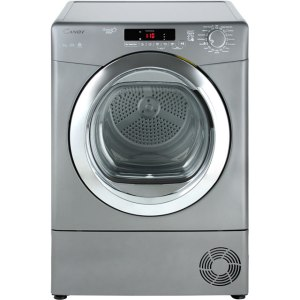 Candy Grand'O Vita GVSC10DCGR Free Standing Condenser Tumble Dryer in Graphite