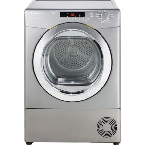 Candy Grand'O Vita GVSC9DCRG Free Standing Condenser Tumble Dryer in Graphite