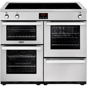 Belling Cookcentre100Ei Prof Free Standing Range Cooker in Stainless Steel