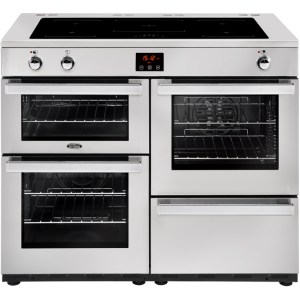 Belling Cookcentre110Ei Prof Free Standing Range Cooker in Stainless Steel