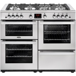 Belling Cookcentre110G Prof Free Standing Range Cooker in Stainless Steel