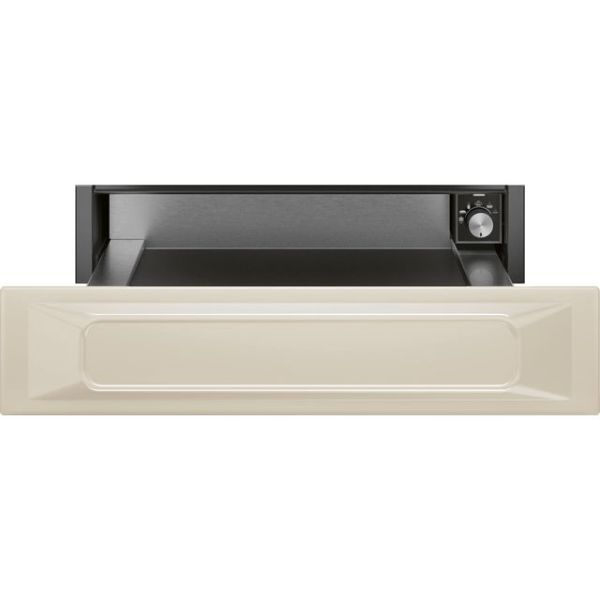 Smeg Victoria CPR915P Integrated Warming Drawer in Cream