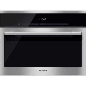 Miele ContourLine DG6100 Integrated Steam Oven in Clean Steel