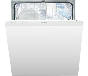Indesit Eco Time DIF04B1 Integrated Dishwasher in White