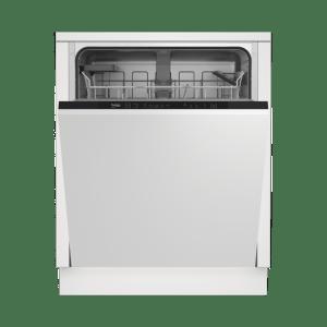 Beko DIN15R11 Integrated Dishwasher in Black